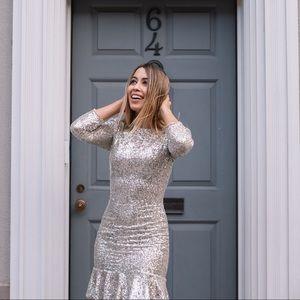 NWT ALI & JAY Sparkle & Shine Sequin Mini Dress